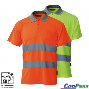 "Produktbild ""Polo-Shirt CoolPass 533 EN ISO 20471"""