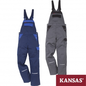 "Produktbild ""Kansas® Icon Two Baumwoll-Latzhose 1009 KC