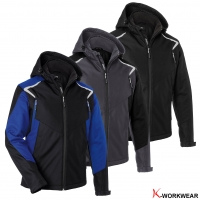 Produktbild: Kübler® Winter-Softshelljacke BODYFORCE
